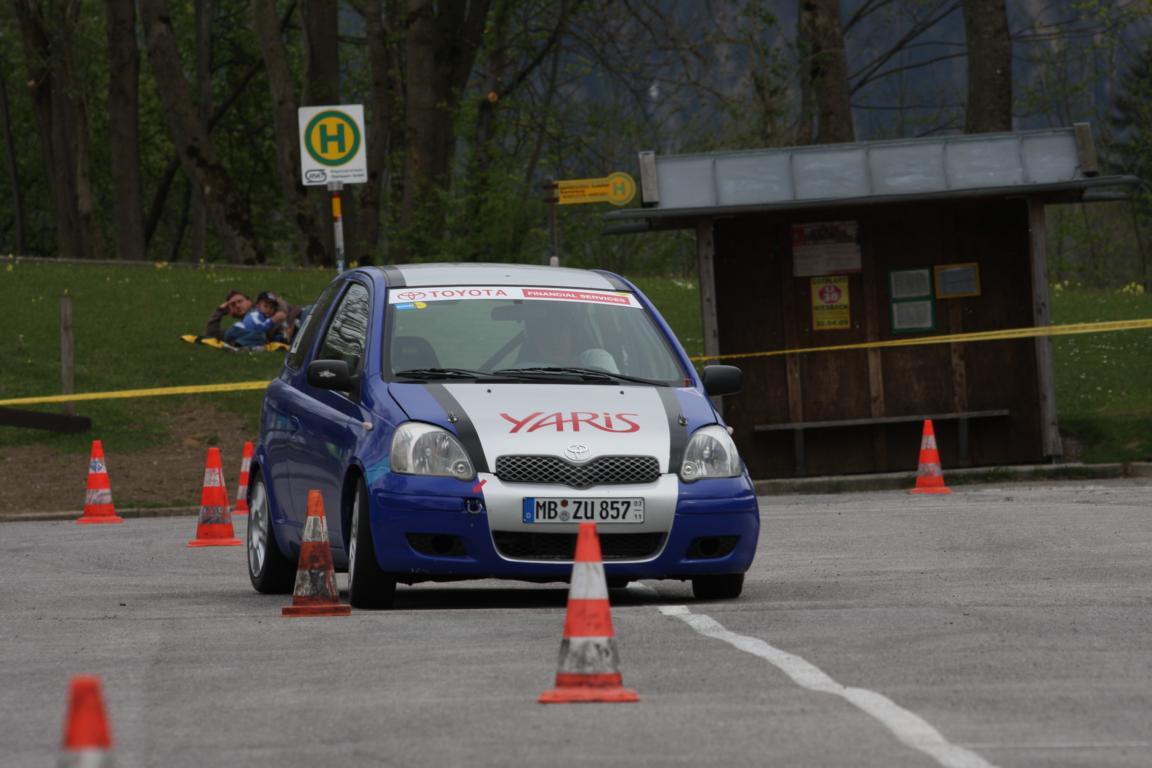 """ADAC Wendelstein Slalom des """"MSC am Tegernsee"""" an der Wendelstein-Seilbahn in Bayrischzell 26.04.2009"""